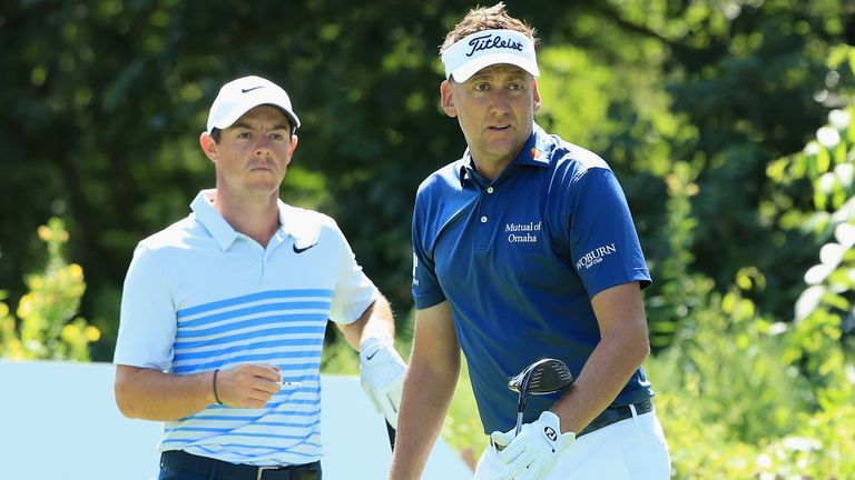 McIlroy played with Ian Poulter on Saturday