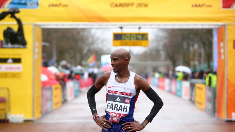 Mo Farah could find himself fending off competition from Callum Hawkins before long, according to the 25-year-old