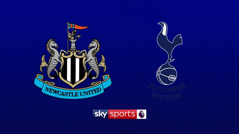 Newcastle host Tottenham Hotspur at St James' Park in front of the Sky cameras