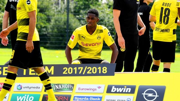 Ousmane Dembele is still suspended by Borussia Dortmund