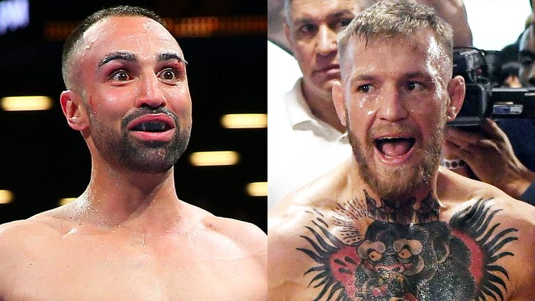 Paulie Malignaggi wants to settle his feud with Conor McGregor in a boxing ring