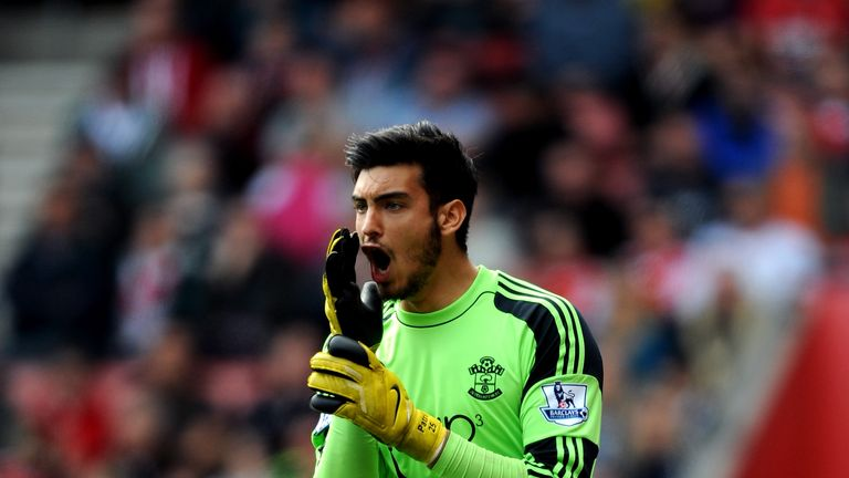 Paulo Gazzaniga has made just 23 appearances in five years at Southampton