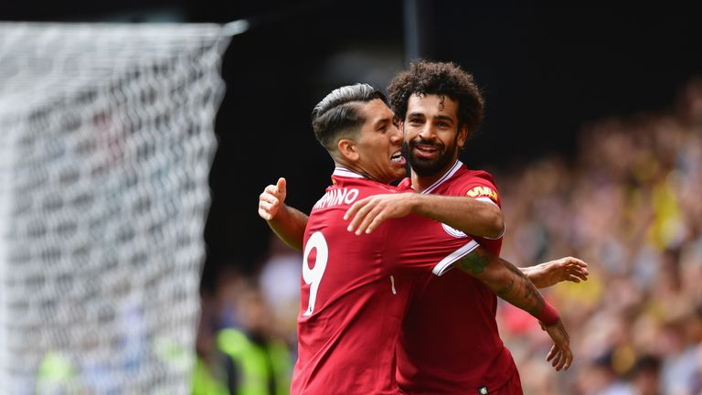 Mohamed Salah starred for Liverpool in their dominating 4-0 win over Arsenal on Sunday
