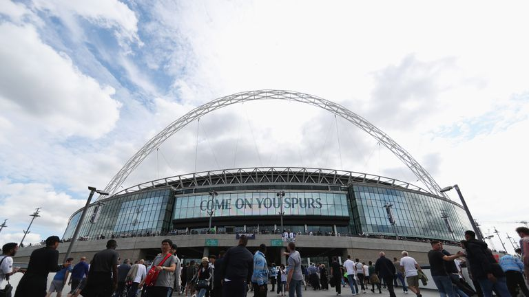 Spurs have put considerable planning into the Wembley match-day experience