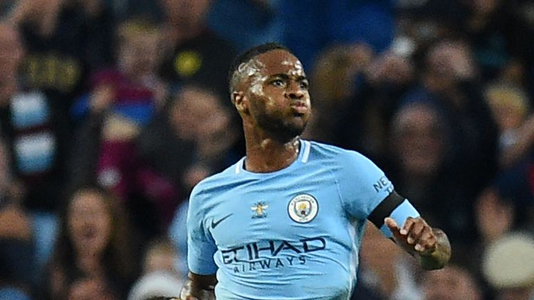 Man City winger Raheem Sterling  returns to face former club Liverpool at Anfield on Sunday