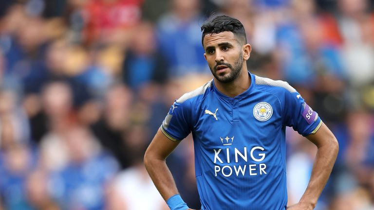 Mahrez is set to miss Saturday's Premier League game against Swansea
