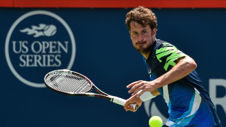 Robin Haase booked his place in his first ever Masters event semi-final after coming from a set down