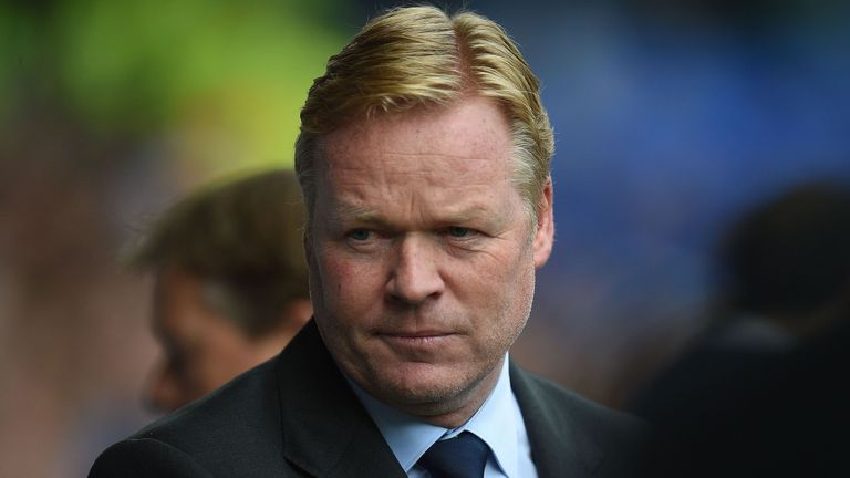 A place in the Europa League group stages is on the line for Ronald Koeman and his side