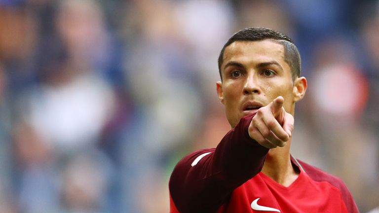 Cristiano Ronaldo's Portugal are challenging for top spot