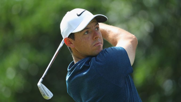 McIlroy was suffering post-round spasms as he spoke to reporters