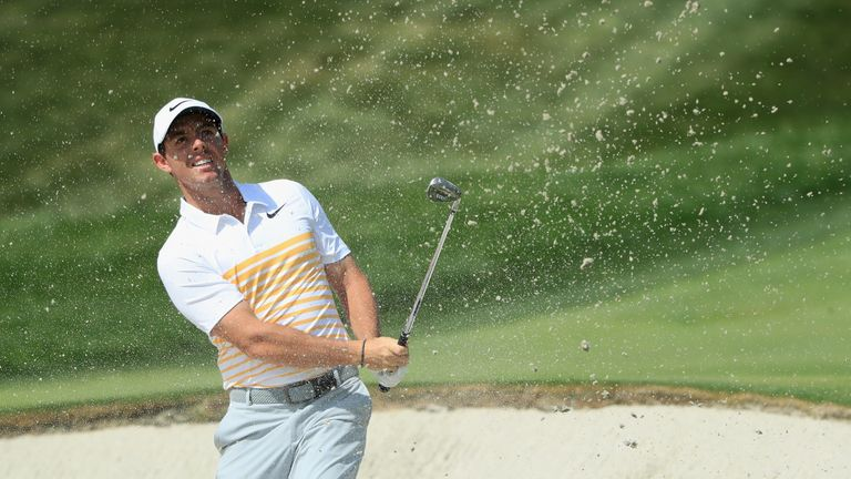 McIlroy mixed four bogeys with two birdies during his final round