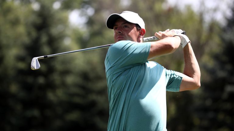 Rory McIlroy admits he is not able to practice as much as he needs to