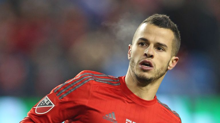 Sebastian Giovinco is targeting MLS Cup glory with Toronto FC