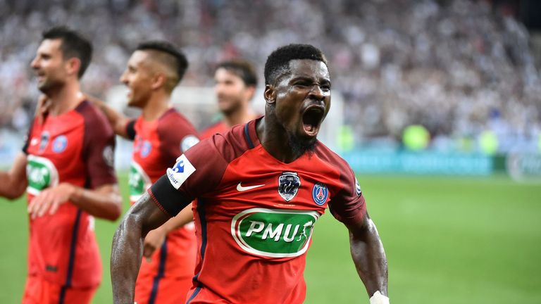 Tottenham are now working on a work permit for right-back Serge Aurier