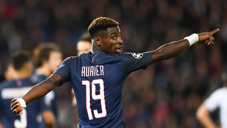 Serge Aurier left Paris for London in the summer, moving to Tottenham for £23m