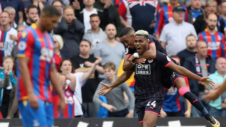 Steve Mounie is back in training for Huddersfield
