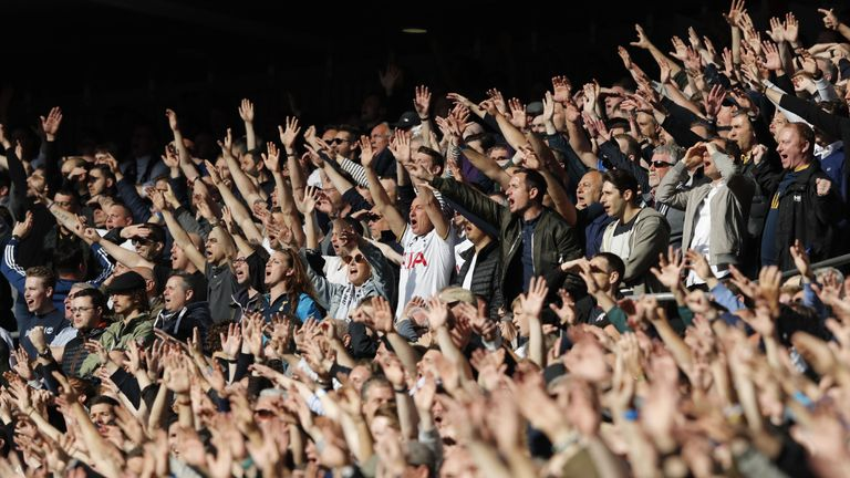 Tottenham beat Liverpool on Super Sunday in front of a record Premier League crowd...