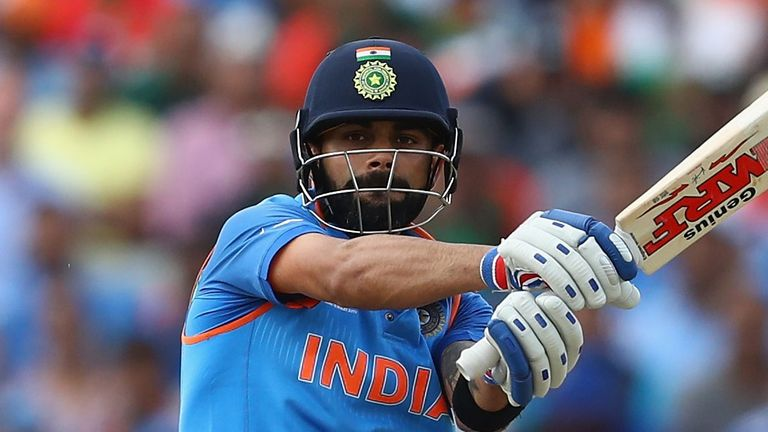 Virat Kohli hit 131 in a stand of 219 with Rohit Sharma in the series win over Sri Lanka
