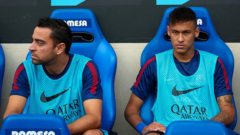 Xavi finds it 'bizarre' that Neymar wanted to leave Barcelona