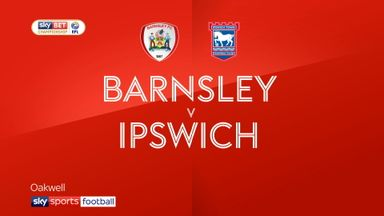 Barnsley 1-2 Ipswich