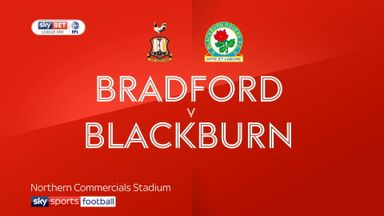 Bradford 0-1 Blackburn
