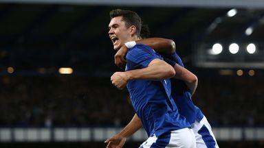 Michael Keane scored in Everton's 2-0 win