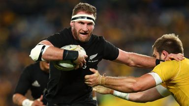 The All Blacks have held the Bledisloe Cup since 2003
