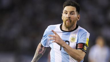 Lionel Messi's Argentina were held at home by Venezuela