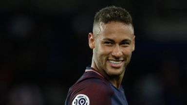 Neymar scored twice on his home debut as PSG beat Toulouse 6-2