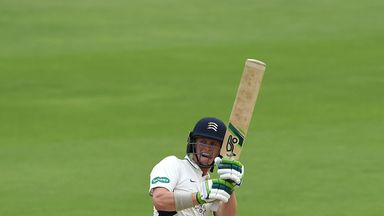 Nick Gubbins top-scored for Middlesex in their 2016 Country Championship winning season