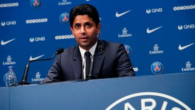 fifa live scores - Paris Saint-Germain's 'big goal' is Champions League, says chairman Nasser Al-Khelaifi