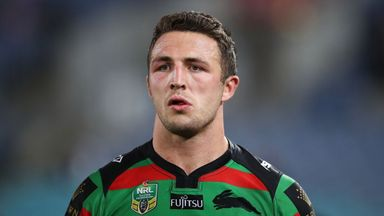 Rugby league star Sam Burgess had an unsuccessful stint in the 15-man code