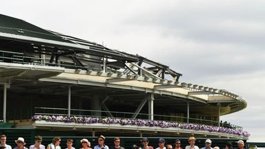 Wimbledon's Number One Court is set to have a retractable roof by  2019