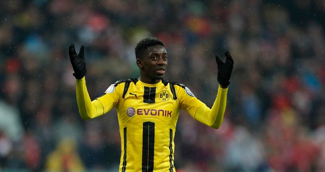Ousmane Dembele is also wanted by Barcelona in a deal in the region of £100m