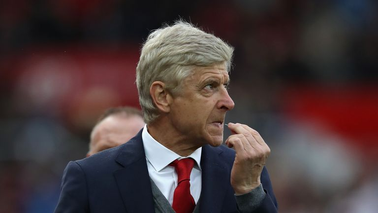 Arsene Wenger and Arsenal suffered a disappointing defeat on Saturday night at Stoke