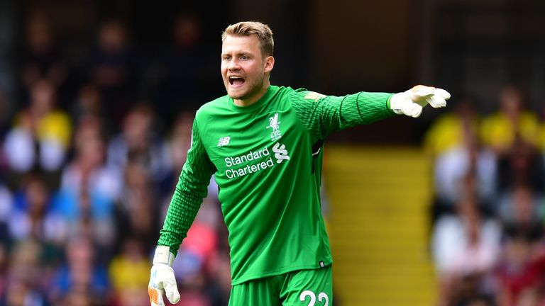 Liverpool goalkeeper Simon Mignolet