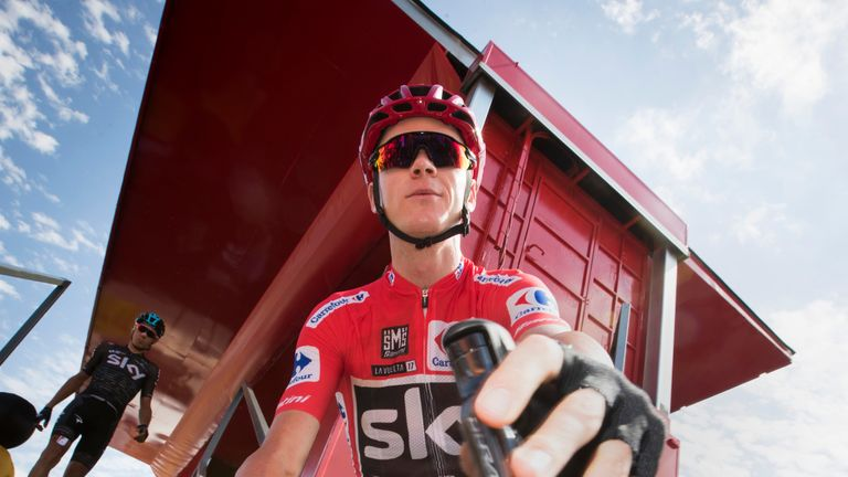 Chris Froome stayed in command in Spain on Wednesday