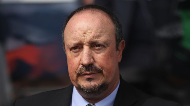 Rafael Benitez says there is 'no news' on any potential Newcastle transfers