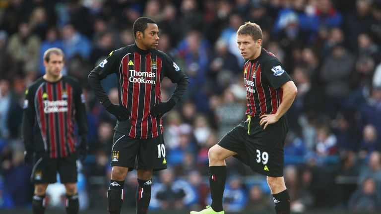 Robinho's attitude at Man City has been criticised by Craig Bellamy