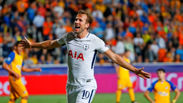 Tottenham striker Harry Kane is one of seven Premier League players to be named on the Ballon d'Or shortlist so far