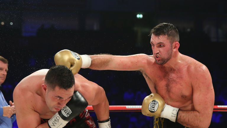Hughie Fury was beaten by Joseph Parker in his world title bout
