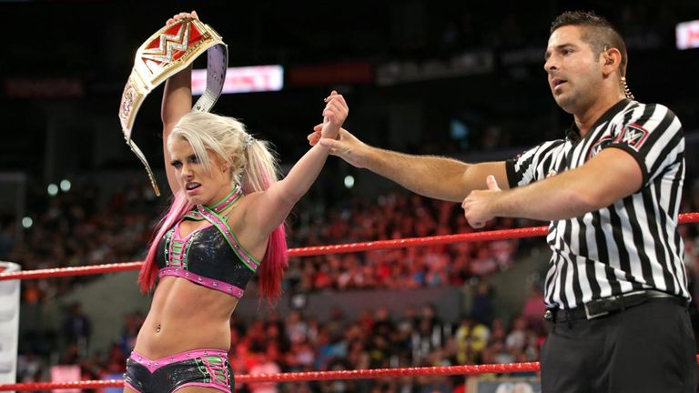 Alexa Bliss has been Raw women's champion for almost six months