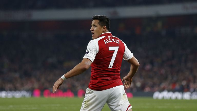 Alexis Sanchez has been linked with PSG