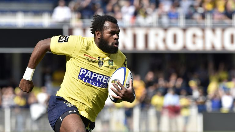 Clermont's Fijian winger Alivereti Raka has started superbly in the Top 14