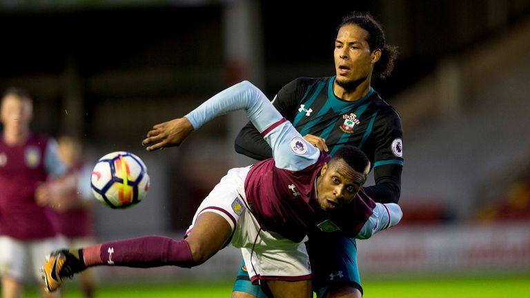 Virgil Van Dijk played 90 minutes for Southampton's U23's against Aston Villa