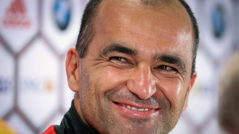 Martinez has guided Belgium to World Cup qualification
