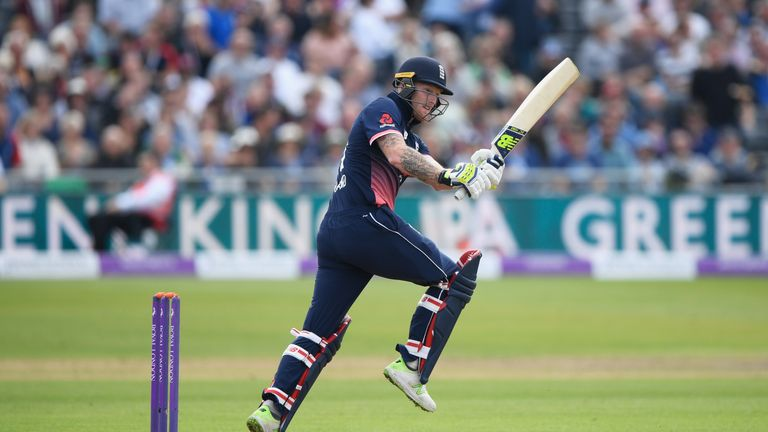 Stokes scored an ODI fifty, against Windies, on his last England appearance in September