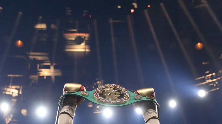 Callum Smith picked up the WBC Diamond belt at the Echo Arena