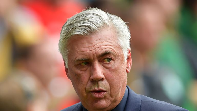 Carlo Ancelotti was sacked by Bayern Munich in September