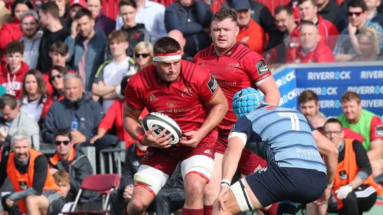 CJ Stander (left) is expecting a tough physical challenge away to Castres